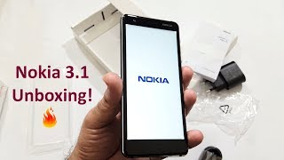 Nokia 3.1 Unboxing & Overview!
