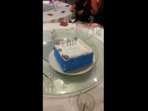 Uncle Stan And John Warne's Birthday Cake