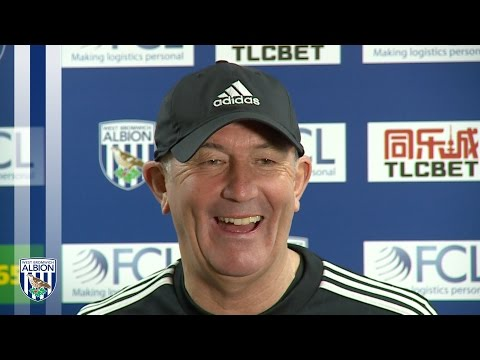 Tony Pulis previews Albion's Premier League home fixture against Watford