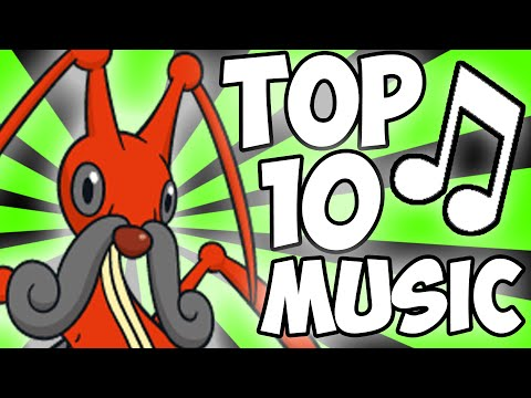 TOP 10 POKEMON MUSIC!
