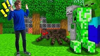 PRZENIOSŁEM SIĘ DO ŚWIATA MINECRAFTA! | Minecraft VR #1