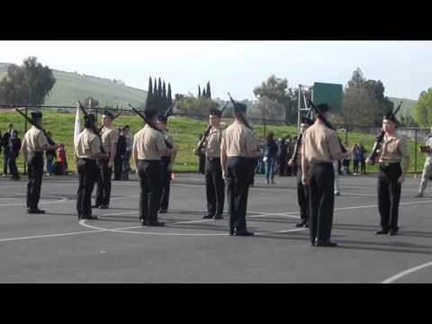 Silver Drill Meet 2016 - Exhibition Drill Team with Arms