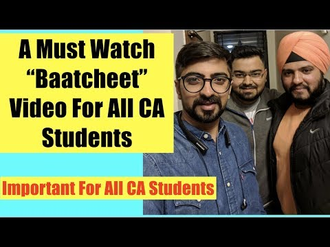 A Must Watch For Every CA Students | Real Life Experience of Two CA Finalists