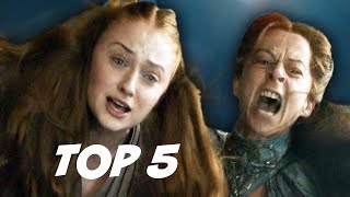 Game Of Thrones Season 4 Episode 7 Mockingbird. Sansa and Littlefin...