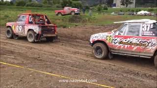 4x4 cars race in the mud [Camper Cross 4x4] | Cherokee Vs. Monteros Vs. Patrol - 4x4 Naves |