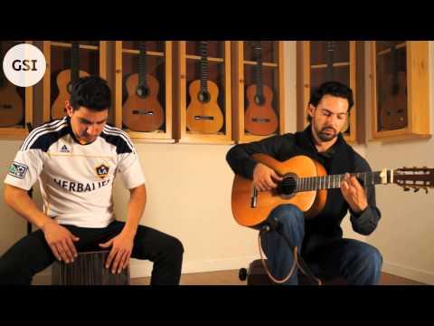 'Alegria' played by Gabriel Osuna (guitar) & Gerardo Morales (cajon)