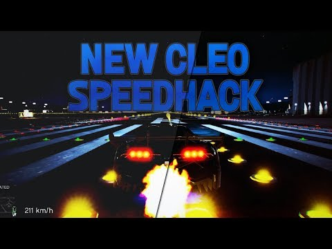 gta samp speed hack cleo