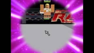 DRW (Divas Roblox Wrestling) New intro and theme!