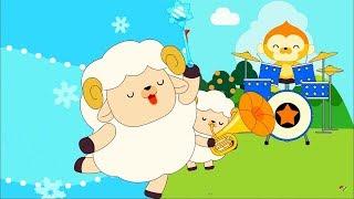 Детские песенки - Был у Мэри маленький барашек 🐑 ПОПУЛЯРНЫЕ песенки Baeko / Mary Had A Little Lamb