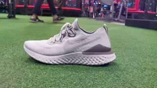 e10008ddaf812 Nike Epic Flyknit React Black