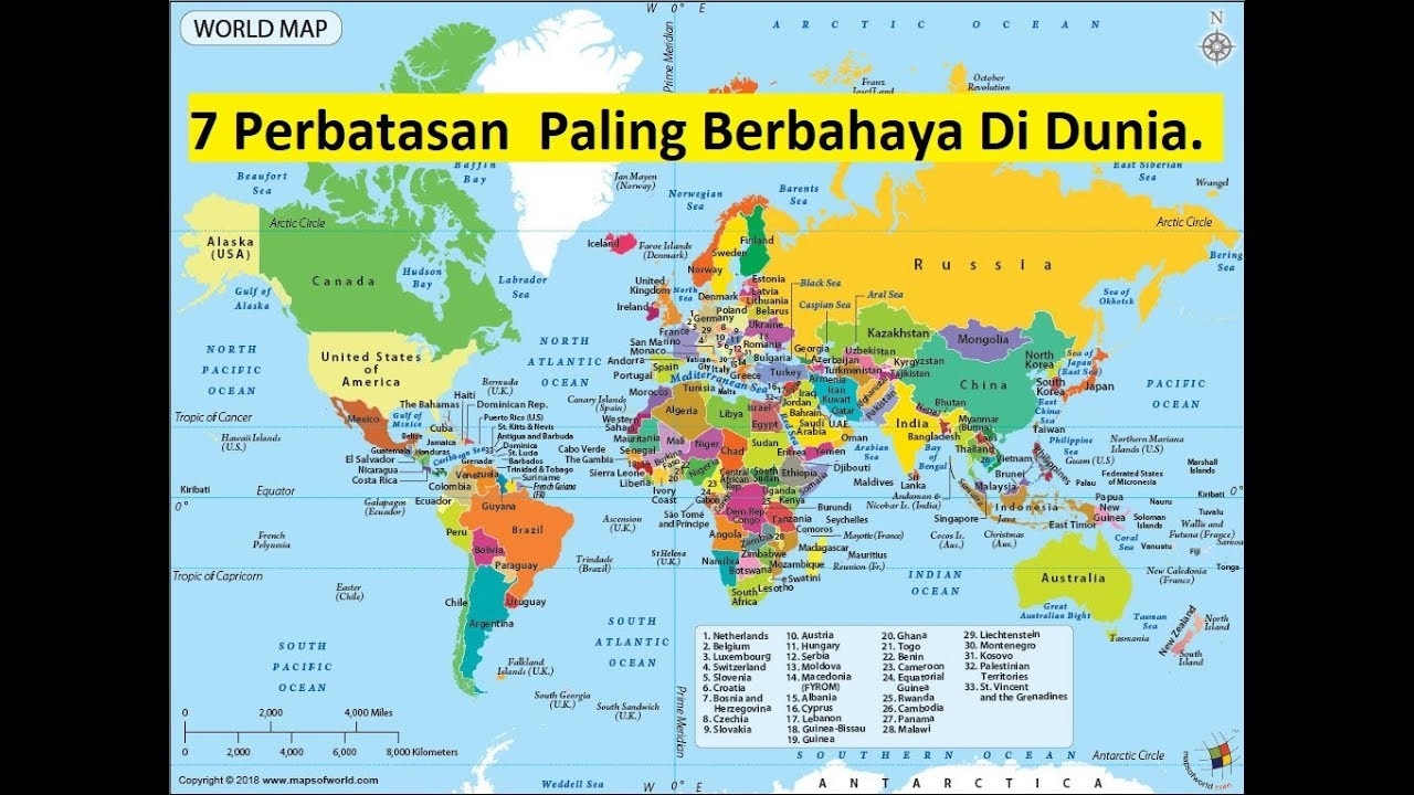 7 Perbatasan  Paling Berbahaya Di Dunia.