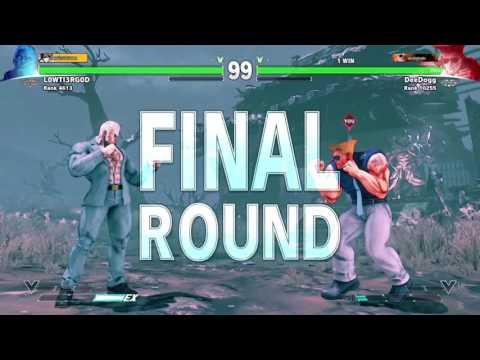 STREET FIGHTER V MONEY MATCH! – DeeDogg vs Lowti3rg0d
