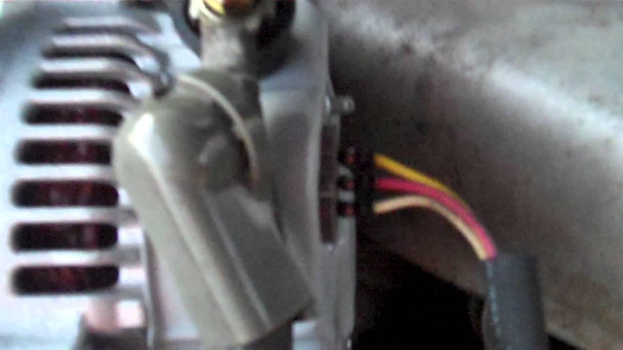 1995 Toyota Camry Alternator Wiring Order #1  YouTube