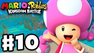 Mario + Rabbids Kingdom Battle - Gameplay Walkthrough Part 10 - Escort Toadette!
