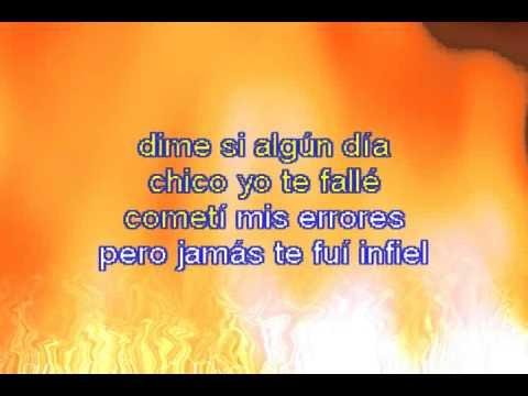 Karaoke Mis Ojos Lloran Por Ti - Erika y el Ruedo cancion para Rebeca