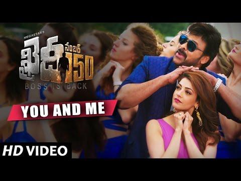 You And Me Video Song | Khaidi No 150 | Chiranjeevi, Kajal | Rockstar DSP | V V Vinayak