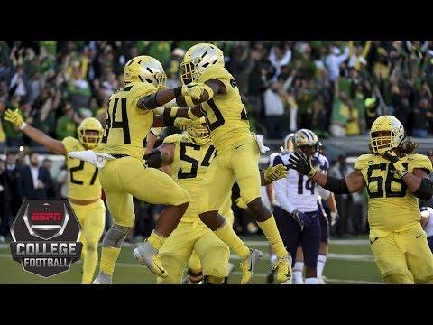 Oregon tops Washington in OT as CJ Verdell scores walk-off TD | College Football Highlights
