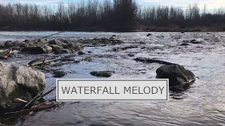 Relaxing Waterfall Nature Sounds - Soothing Natural sounds of Water Relaxation