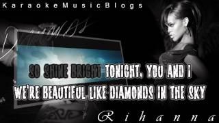 Rihanna - Diamonds Karaoke Instrumental + Free mp3 download!