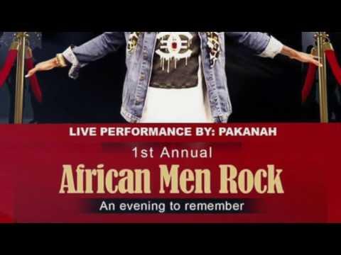 """""""AFRICAN MEN ROCK"""" PAKANAH"""