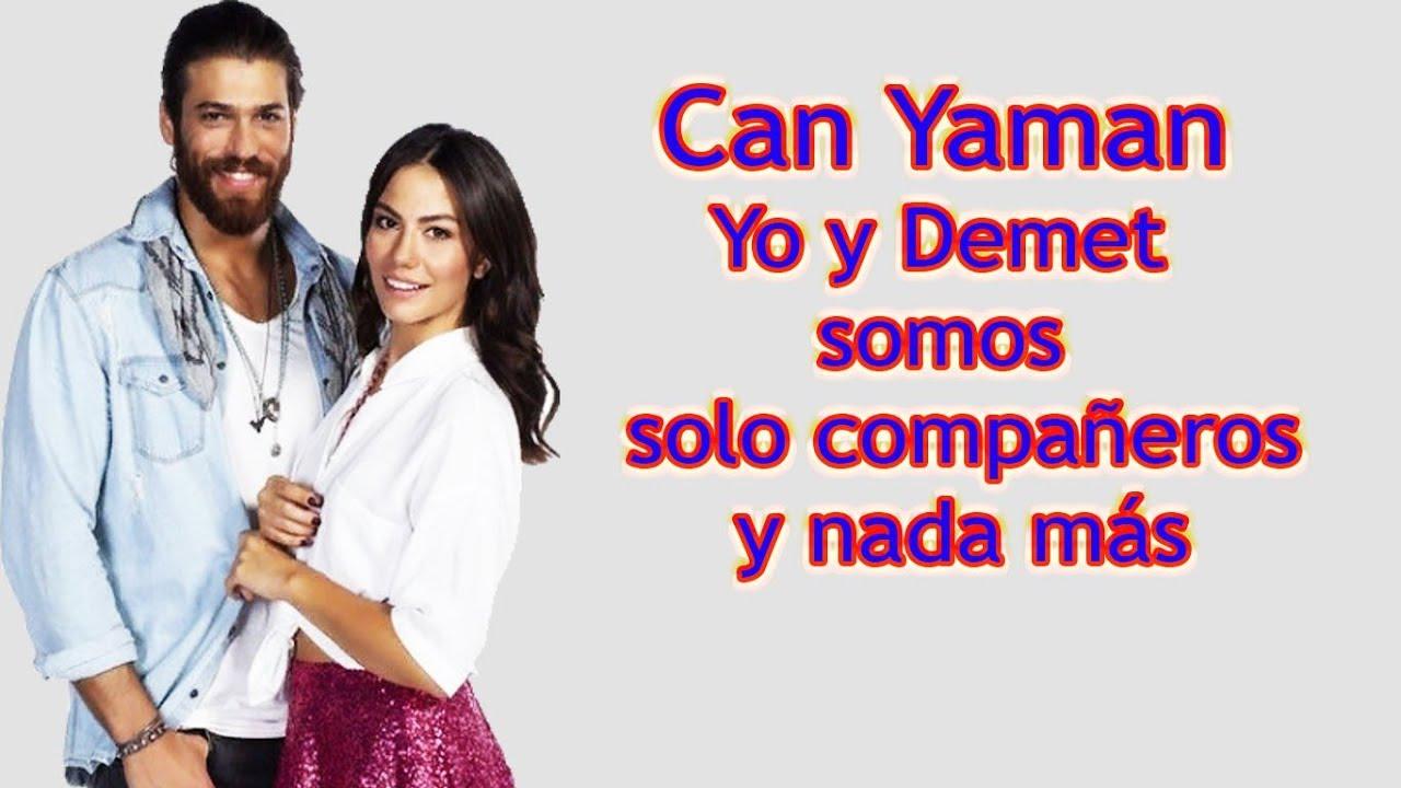 Can Yaman: ¡Qué amor! Yo no estoy en una relación con Demet Ozdemir !!!