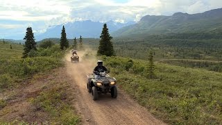 Fisher's ATV World - Alaskan Family Adventure Pt2 – Eureka and the Last Frontier (FULL)