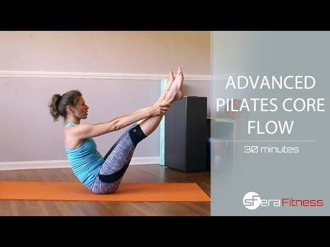 Advanced Pilates Core Flow - 30 Minutes from YouTube · Duration:  31 minutes 15 seconds