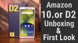 10.or D2 Unboxing | Amazon Alexa Built-In???