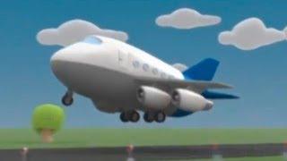 Мультики Детям - Мусти - Полет на Cамолете