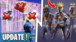 *NEW* Fortnite Update! | Building Revamp Coming, IT Collab, Dark Legends Skins!