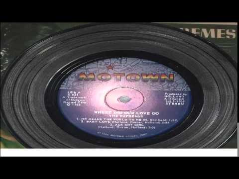THE SUPREMES BABY LOVE   LITTLE   LP MOTOWN