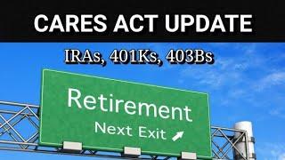 IRS Retirement Updates for IRA's, 401K's & 403b's