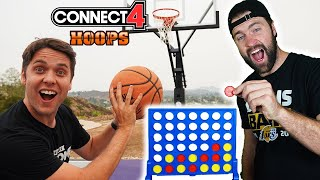 CONNECT 4 BASKETBALL Challenge w/ Josh Horton (Crazy prize up for grabs!!!)