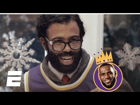 Lakers-Warriors Christmas Day promo starring Daveed Diggs and Ryan Nicole Peters | NBA