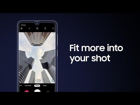 Galaxy A30: How to shoot with Wide & Ultra Wide cameras | Samsung