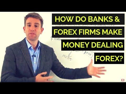 How Do Banks & Forex Firms Make Money Dealing FX? 💱