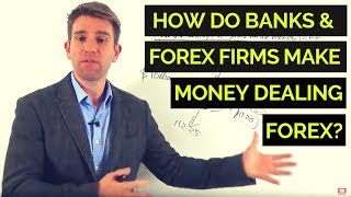 How do Banks & Forex Firms Make Money Dealing FX? 💱