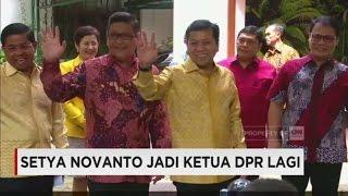 Setya Novanto Jadi Ketua DPR Lagi