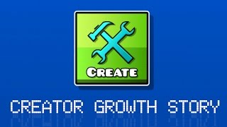 CREATOR GROWTH STORY (?) | Geometry Dash (Unique Star Valued Level) # Our Memory :3