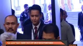 Tun Daim tidak diberi maklum urus Forex BNM