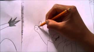 THE FLINTSTONE How to draw a PABLO 1#BOCETO  X db