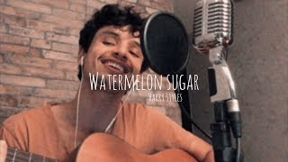 Gambar cover 'watermelon sugar, @Harry Styles ' - cover Adriano Ferreira