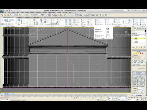 3ds MAX Design 2011 | Lesson 10 |  r4 graphite modeling tools | page 33