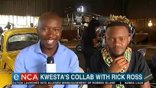 Kwesta collaborates with Rick Ross