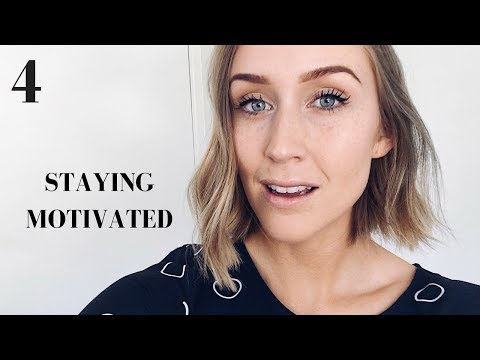 STAYING MOTIVATED + OVERNIGHT SUCCESS | DAY 4: 365 Days of Personal Growth