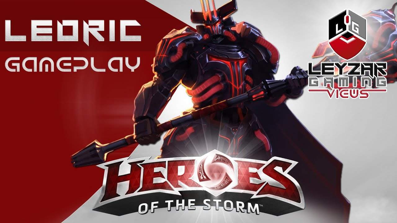 Heroes of the storm gameplay leoric space lord skin - Heroes of the storm space lord leoric ...