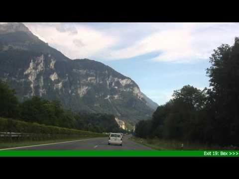 A9 Vevey - Sierre, Switzerland