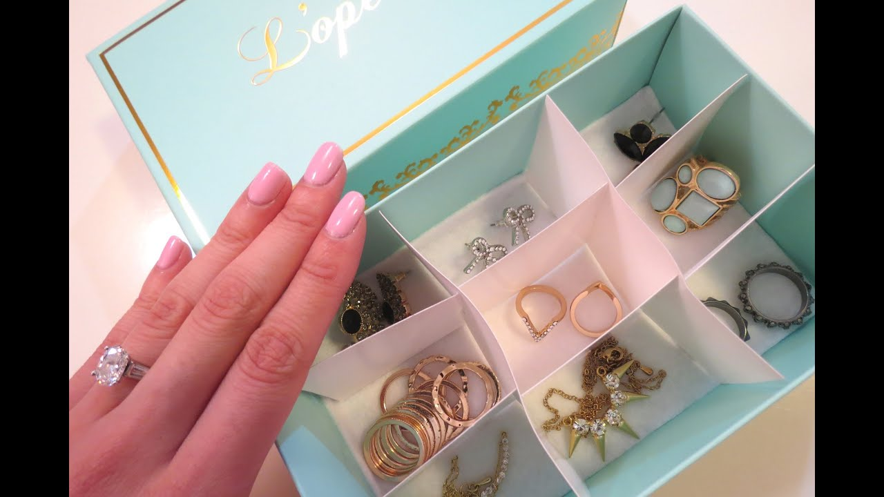 DIY Jewelry Organizer Box YouTube