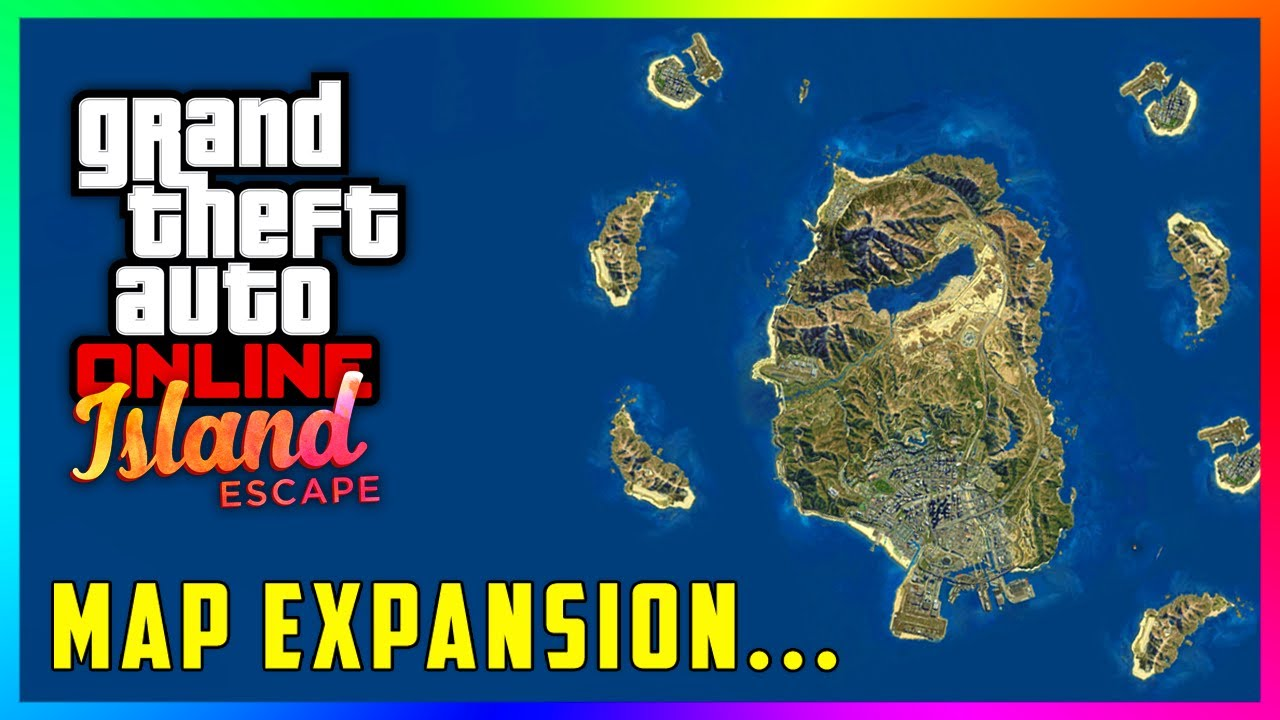 Gta 5 Online Island Map Expansion Coming In The Biggest Dlc Update Ever Later This Year Youtube