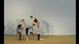 Akrobatik 2 - Dynamische Bodenakrobatik, Pyramiden